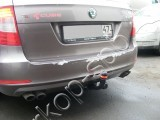 Фаркоп Bosal VFM для Skoda Superb II 2008-2015 (седан, универсал)